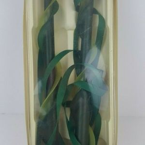 """Vintage Dadant Candles Pair of 12"""" Taper Double Sp"""